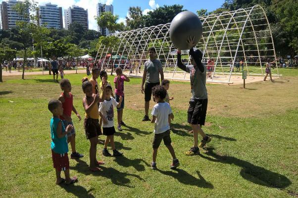Atividades físicas ao ar livre marcaram lançamento do Projeto Alpha Sustentável