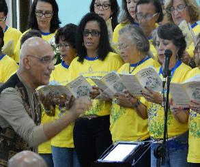 Cânticos para Santo Antônio na Igreja do Bonfim