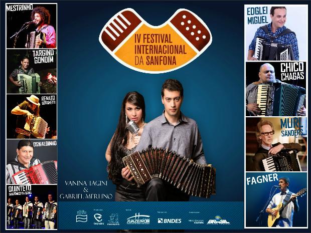 fc6dafffb087c Confirmado  Dupla argentina de tango Vanina Tagini e bandoneonista Gabriel  Merlino estará no IV Festival Internacional da Sanfona
