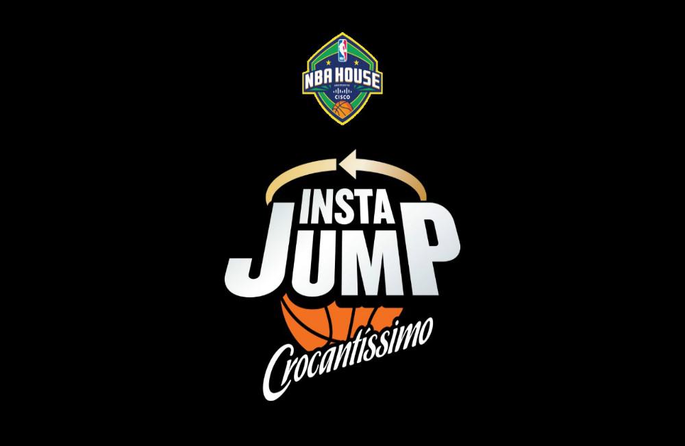 "NewStyle cria ""Insta Jump"" para Crocantíssimo na NBA House"