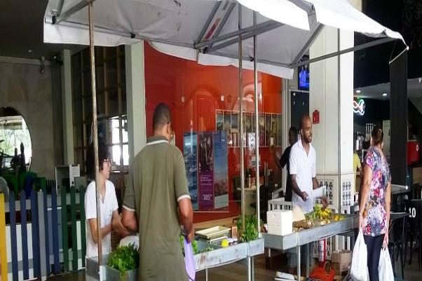  Feira orgânica continua no Shopping Paseo Itaigara