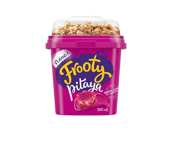 Frooty inova e apresenta ao consumidor creme de pitaya