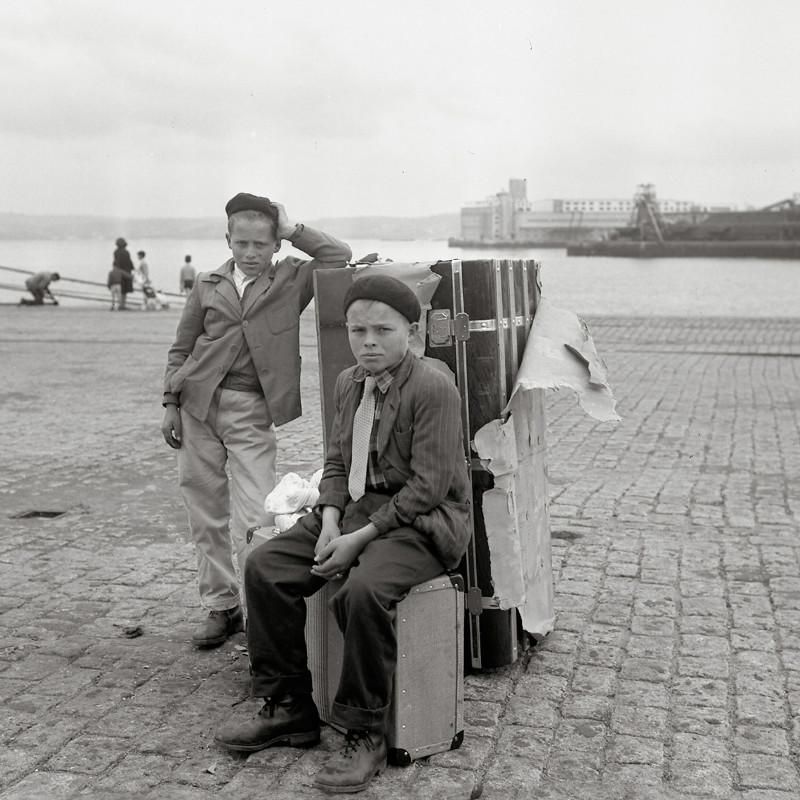 Fotógrafo espanhol documenta emigração galega