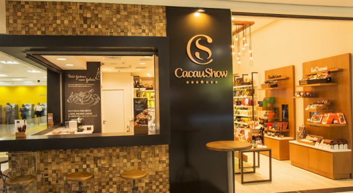 Cacau Show renova identidade visual e apresenta novo modelo de loja