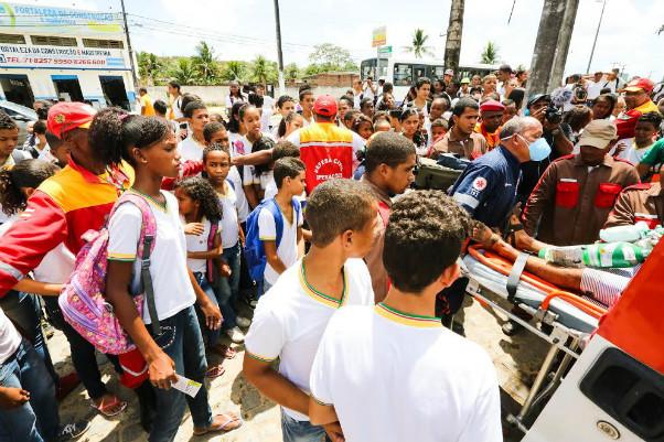 Defesa Civil coordena dois novos simulados  na comunidade em Camaçari e Dias d'Ávila