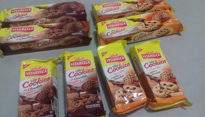 Nova linha Vita Cookies com embalagens práticas e deliciosas gotas de chocolate