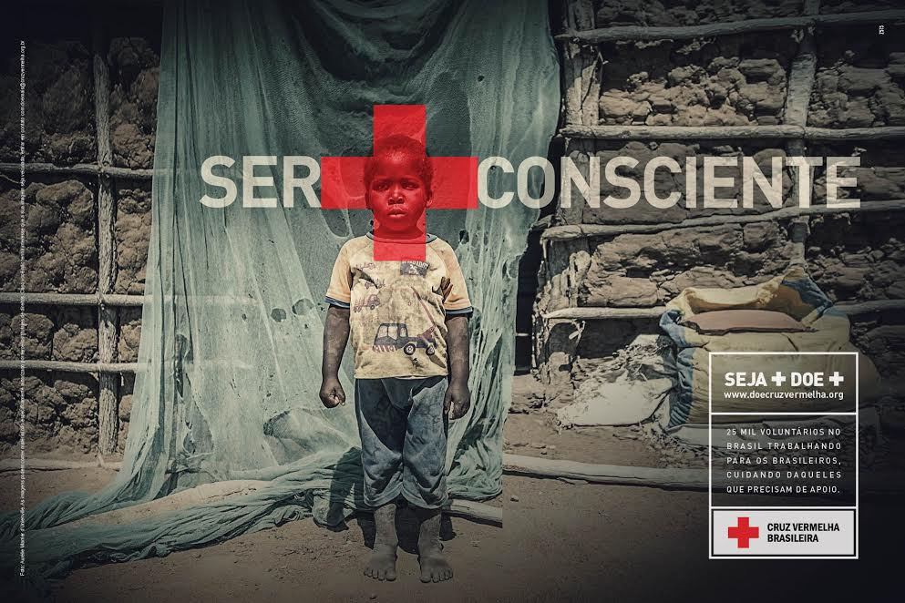 Com criação da Z515, Cruz Vermelha Brasileira estreia campanha de doação