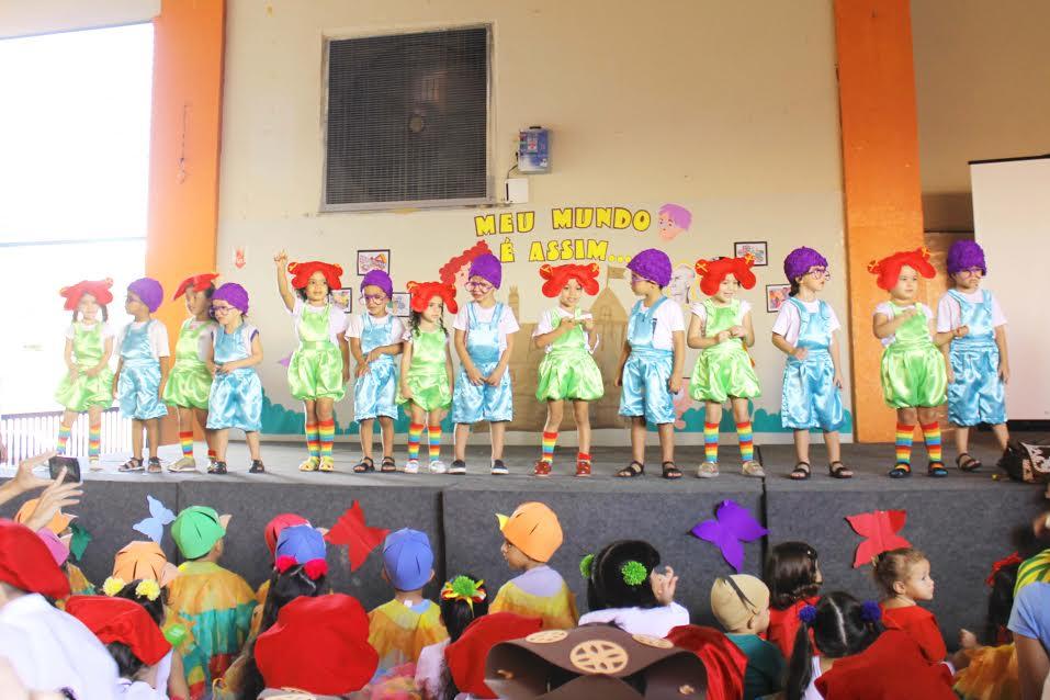 Colégio conclui projeto em Petrolina com festa cultural