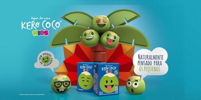Kero Coco lança campanha divertida para o lanche das crianças