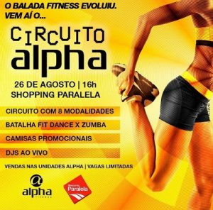Circuito Alpha : Circuito alpha: maior evento fitness realizado dentro de shopping