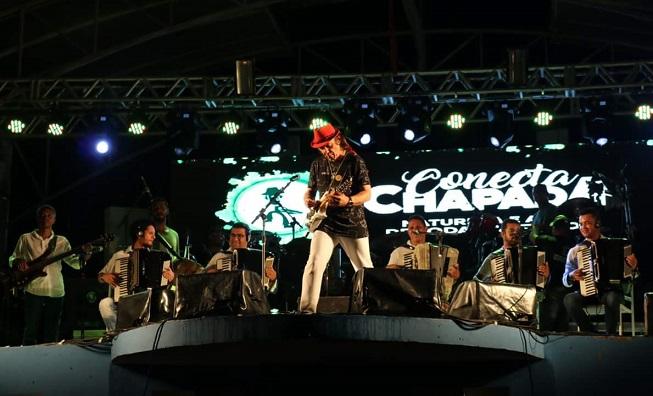 Última noite do Conecta Chapada mistura ritmos