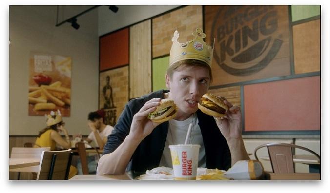 Burger King convida humorista Jefferson Schroeder para nova ação