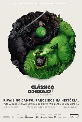 Lew'Lara\TBWA cria campanha para exposição do Museu do Futebol sobre os grandes clássicos brasileiros