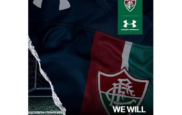 3dcc2e2a988 Fluminense e a Under Armour apresentam os novos uniformes da equipe