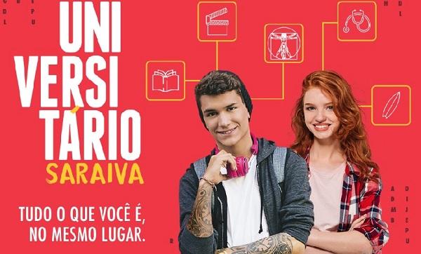 """Saraiva cria ação para Universitários """"Tudo o que você é no mesmo lugar"""""""