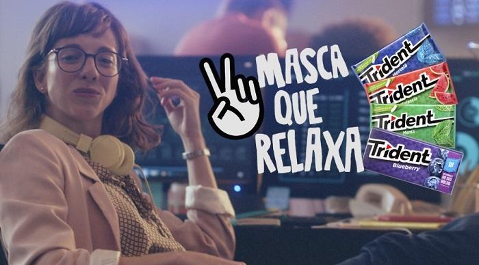 """Trident apresenta nova comunicação """"Masca que relaxa"""""""
