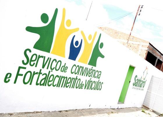 Sanharó inaugura sede do Serviço de Fortalecimento de Vínculos para Crianças