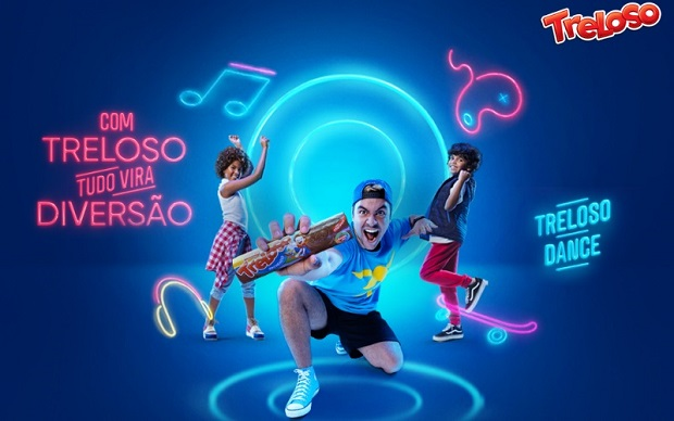 Com Luccas Neto e o canal FitDance, Treloso faz todo mundo dançar em campanha