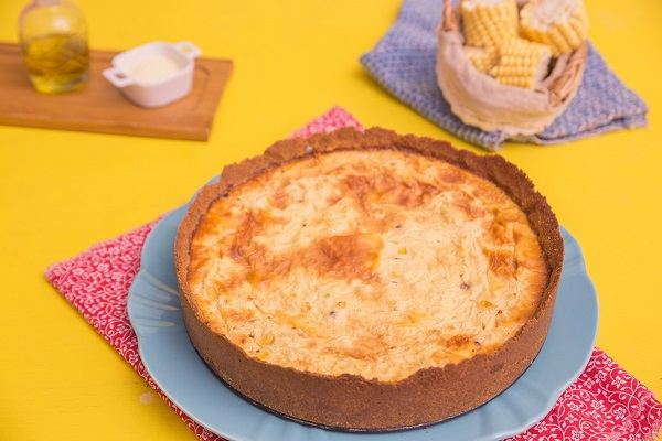 Torta de milho é a cara dos festejos de São João!