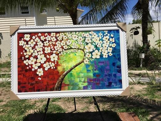 Circuito de Arte Perini recebe exposição da  artista plástica baiana Nilda Vasconcelos
