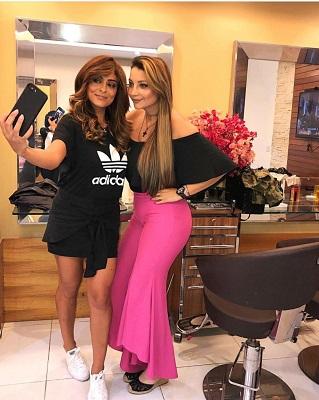 O que a cabeleireira da Juliana Paes tem em comum com 'A Dona do Pedaço'?