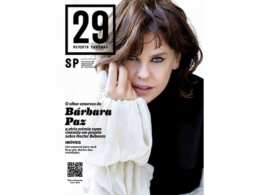 Revista 29HORAS de agosto traz uma entrevista exclusiva com o ator Fabrício Boliveira